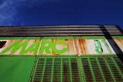 Green MARC (Laurence's Pictures) Tags: railroad burlington train pacific general cab engine iowa motors marc locomotive northern e9 e8 unit bensenville emd