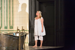 Diana Damrau in Katie Mitchell's Lucia di Lammermoor ©2016 ROH. Photograph by Stephen Cummiskey (Royal Opera House Covent Garden) Tags: music opera coventgarden royaloperahouse royalopera donizetti luciadilammermoor dianadamrau bykatiemitchell