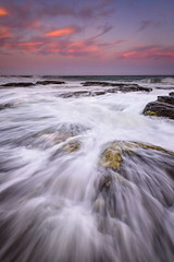 Churn (Rodney Campbell) Tags: ocean sky water clouds rocks au australia newsouthwales cpl wombarra gnd09