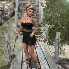 ~Bianca~ ( aka Nessie Ryan) Tags: life tattoo hair dc shoes dress mesh body ryan kunst energie mandala sl identity event empire second exile collaborative ikon cuffs nessie the liaison maitreya meshhead meshbody
