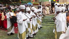 Priests dancing for Timkat