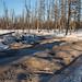 Realidade da zimnik, estrada de inverno