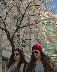 (2016 03 06) Fuji ekim (Cihat Ertem) Tags: portrait woman flower tree girl vertical glasses spring colorful fuji streetphotography desperate bloom fujifilm ankara portre bahar iek kz aa 2016 tomurcuk gzlk dissatisfied renkli 23mm kadn tunal tunalhilmicaddesi memnuniyetsiz dikey umutsuz sokakfotoraf x100t tunalhilmistreet