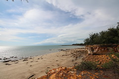 East Point Low Tide Cliff Scene (Wormey) Tags: nt australia darwin eastpoint northernterritory 2016 canon650d
