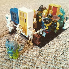 Bought my son some random bits... (nathanrobinson2) Tags: lego apocalypse horror undead zombies siege twd theevildead thewalkingdead legozombies uploaded:by=flickstagram instagram:photo=1082627231582519960184137303
