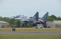 Mikoyan MiG-29AS (Boushh_TFA) Tags: england tattoo nikon force air royal polish 300mm international 40 nikkor f28 raf ffd fairford mikoyan riat mig29 2015 d600 vrii siy powietrzne egva mig29as
