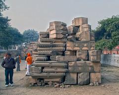 Shri Rama Janmabhoomi [2nd of a series] (David Clay Photography) Tags: india stone temple rama ramayana ayodhya