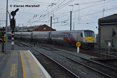 9003 arrives at Connolly, 12/4/16 (hurricanemk1c) Tags: dublin irish train rail railway trains enterprise railways irishrail nir 9003 2016 connolly iarnrd dedietrich ireann northernirelandrailways iarnrdireann 1405belfastcentraldublinconnolly