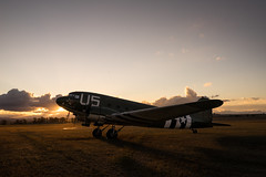 Sunset over Dakota (Colin_Bates) Tags: plane vintage airplane aircraft ww2 dc3 dakota c47