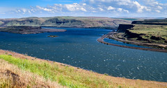The Columbia River, 4th Largest River in USA (maytag97) Tags: road cliff oregon river highway columbiariver interstate bluff i84 maytag97