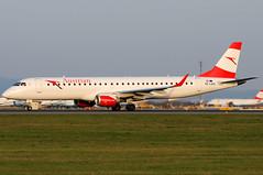 Austrian Airlines Embraer ERJ-195-200LR - OE-LWG (Chris Jilli) Tags: airlines austrian embraer erj195200lr oelwg