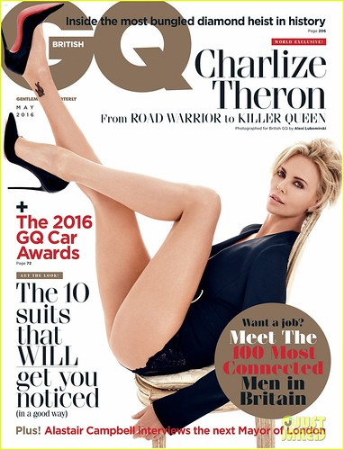 Шарлиз Терон для GQ magazine
