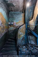 Stairs (Jeff Perigois) Tags: life city light people urban building water stairs floors asia cambodia pipe ruin phnompenh sangkum
