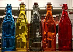 Rainbow Bottles (Rick & Bart) Tags: city nyc urban usa newyork canon italian colours bottles manhattan marketplace eataly rickbart thebestofday gnneniyisi rickvink eos70d