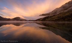 Moke Lake Sunrise Reflections (Panorama Paul) Tags: newzealand sunrise mokelake nikkorlenses nikfilters nikond800 wwwpaulbruinscoza paulbruinsphotography