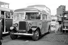 A glass and a half (Bingley Hall) Tags: uk england bus cub britain transport transportation lon stpancras omnibus leyland parkroyal londontransport rall c111 halfdecker clx548