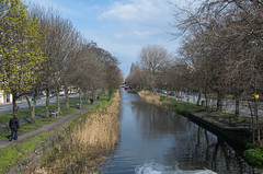 Grand Canal - DSC_0440 (John Hickey - fotosbyjohnh) Tags: ireland dublin landscape canal nikon april grandcanal waterway 2016 irelandtourism nikond5100 april2016