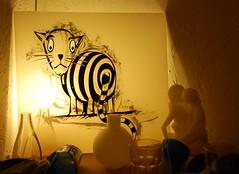 tabby (Dr. Tuc) Tags: cat stencil tabby glasmalerei katze glas tuc hinterglasmalerei milchglas berfangglas drtuc