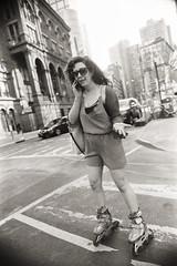 AA010 (heavyasmountains) Tags: nyc newyorkcity blackandwhite slr film 35mm photography nikon candid streetphotography noflash 24mm fm3a filmphotography streetstyle