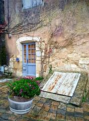 Blue door at the Citadel of Blaye (kimbar/Thanks for 2 million views!) Tags: door house france citadel worldheritagesite blaye