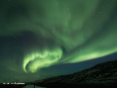 Aurora Borealis over Kangerlussuaq, Greenland (802701) Tags: arctic aurora greenland northernlights auroraborealis arcticcircle kangerlussuaq