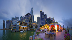 The Fullerton Bay Hotel, Singapore (gintks) Tags: landscapes singapore architectural cbd singapur centralbusinessdistrict cliffordpier onefullerton collyerquay exploresingapore fullertonroad singaporetourismboard onemarinaboulevard cliffordsquare yoursingapore ouebayfront onecollyerquay gintks gintaygintks