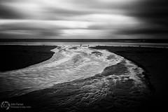 the night (John Farnan Photography) Tags: monochromatic lowkey ayrshire darkskies portencross flowingwater flowingsea ayrshirecoast flowingsands darkandbrooding