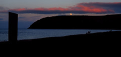 moonrise (ccgd) Tags: sunset scotland cromarty gloaming