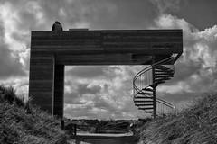 Dune Guardian (RadarOReilly) Tags: bw monochrome germany island blackwhite dunes norderney insel sw dnen niedersachsen schwarzweis