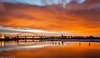 Wigg Island (1 of 1) (andyyoung37) Tags: uk longexposure sunset england silhouette reflections cheshire mersey runcorn runcornbridge greatsky