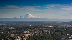 Mount Rainer (bcdixit) Tags: seattle nikon mountrainier rainier d750 tamron90mm seattlephotography skyviewobservatory nikond750
