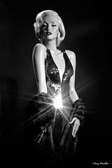 Marilyn Monroe (Terry Minella) Tags: bw cinema classic mannequin marilyn vintage movie glamour doll marilynmonroe retro hollywood blonde 50s lifesize diva schaufensterpuppe figur puppe rootstein schaufensterfigur
