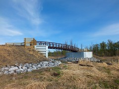 The new Bridge 9, Fish Creek Provincial Park -  Calgary (benlarhome) Tags: canada calgary alberta provincialpark nwn fishcreek fishcreekpark