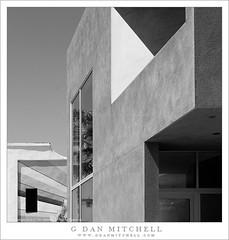 Buildings, Venice Beach (G Dan Mitchell) Tags: california shadow urban blackandwhite monochrome architecture buildings losangeles southern venicebeach shape angular