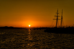 Ocean Sunset (MikeRicciPhoto) Tags: ocean sunset landscape boats pier pacific sandiego sony a7 2870mm mikericciphoto