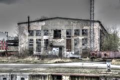 Rostock-Warnemnde - Kleine Hafenrundfahrt, Ruine (www.nbfotos.de) Tags: abandoned warnemnde ruine hafen hafenrundfahrt industrie rostock mecklenburgvorpommern