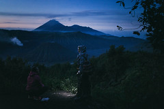 The most famous sunrise in Indonesia. Bromo (Paulina Wierzgacz) Tags: road park trip travel portrait horses people horse sun mountain mountains travelling nature animal sunrise trekking indonesia landscape island java spring asia desert dream tourist traveller adventure explore national trial bromo vulcano reportage