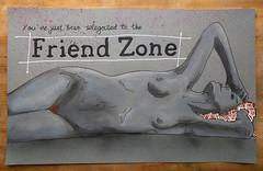 The Friend Zone (id-iom) Tags: street urban woman art sex lady graffiti friend vandalism zone idiom relegated
