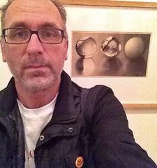 My favorite self portrait at the exhibition #Spiegeloog #selfie #Escher Museum Arnhem (Martin Majoor) Tags: escher selfie spiegeloog