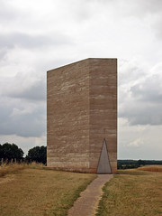 100722_bruder klaus chapel_0179 (A Is To B As B Is To C) Tags: architecture germany burntwood aistobasbistoc peterzumthor rammedearth bruderklausfieldchapel rammedconcrete leadfloor
