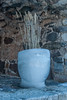 Seasonal Flowers Pot (LiveToday84) Tags: new trip travel flowers winter sea flower art ice water way out island boat frozen helsinki artistic north pot thinking vase create icy suomenlinna realize realise d80
