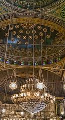 Mosque of Muhammad Ali, Cairo, Egypt (bfryxell) Tags: egypt cairo chandelier alabastermosque mosqueofmuhammadali citadelofsaladin