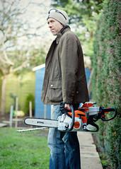 Barbour (waynepilling) Tags: chainsaw petrol stihl hedgecutter wapwaynepilling2016denisewillshandymanhedgewardscissorhandspgd700portraitsworkgardengardeninghedgecuttingtreechainsawdenwinterbarbour wapwaynepilling2016denisewillshandymanhedgewar