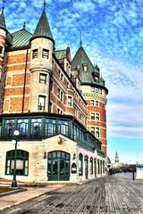 Québec en automne (Dannyboy_40) Tags: door old city monument cross quebec cité noel québec chateau quai ville décoration vieux croix frontenac cimetière touriste