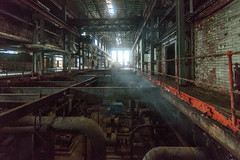 Steam (GR1CreativeMedia) Tags: light urban sunlight abandoned industry station reflections nikon industrial power slow decay pipes steam full generators frame shutter d750 fx exploration derelict ultrawide f4 urbex 1635