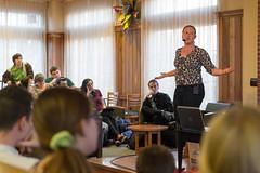 20160203_NatalieKruse_CafeTalk_0006_amd (Voinovich School of Leadership & Public Affairs) Tags: mines frontroom appalachia sustainability contamination bakercenter sciencecafe minereclamation nataliekruse