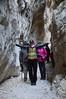 Si riescono a toccare entrambe le pareti della forra di Fara San Martino (CH) - Majella - Abruzzo - Italy