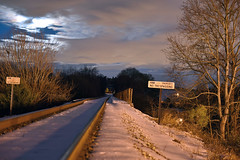 DSC_8669 (FirehawkNS) Tags: bridge snow river nc traintracks tracks northcarolina fullmoon moonrise snowday trainbridge moonshine movingclouds mountholly moonandclouds catawbariver gastoncounty winterinnc