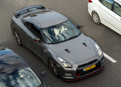 6555512 2 (rOOmUSh) Tags: auto car nissan gray spot exotic supercar matte gtr