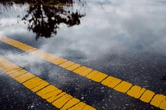 Disappearing Lines (reclaimednj) Tags: road us newjersey flooding unitedstates nj landing climatechange 2016 sealevelrise amasa tuckerton burlingtoncounty bassrivertownship